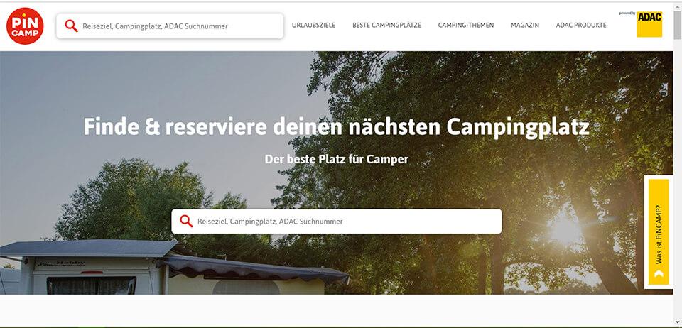 Campingplatz buchen PiNCAMP