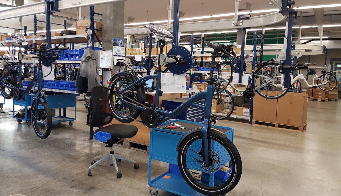 Produktion E-Bikes