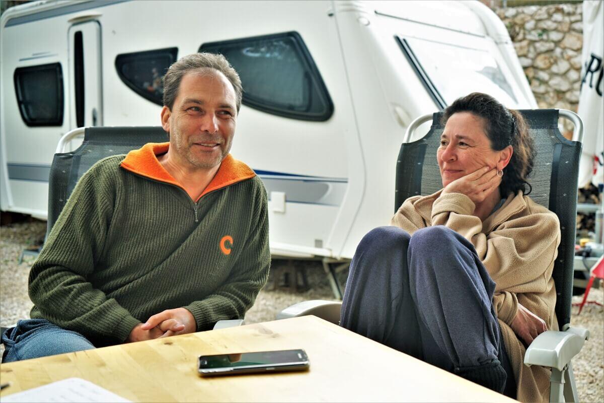Günther und Martina im Interview