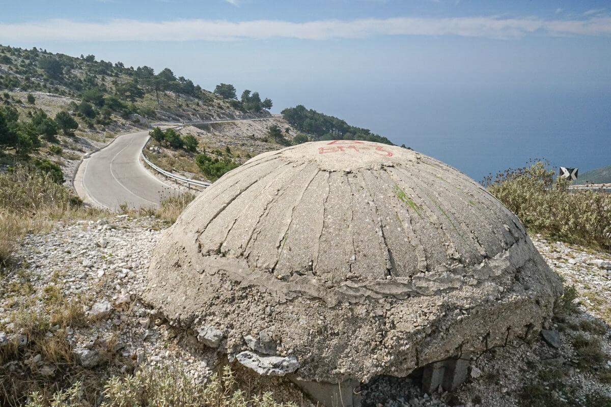 Bunker, Meer, Albanien Reisen