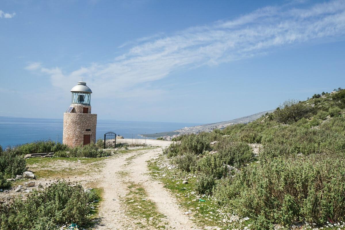 Leuchtturm, Saranda, Albanien Reisen