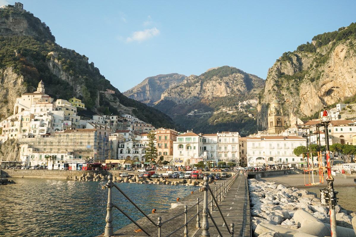 Amalfi von vorne