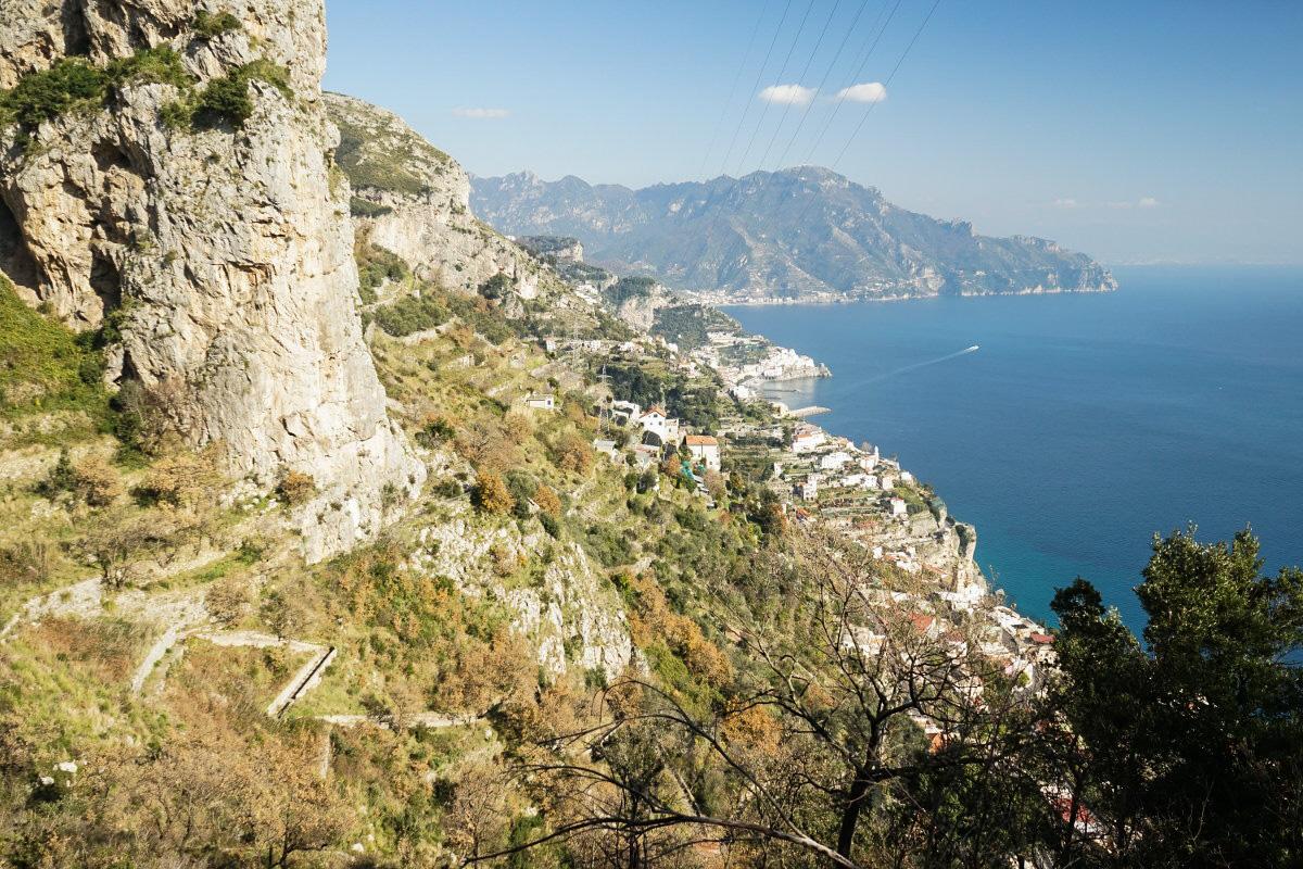 Aussicht Amalfiküste