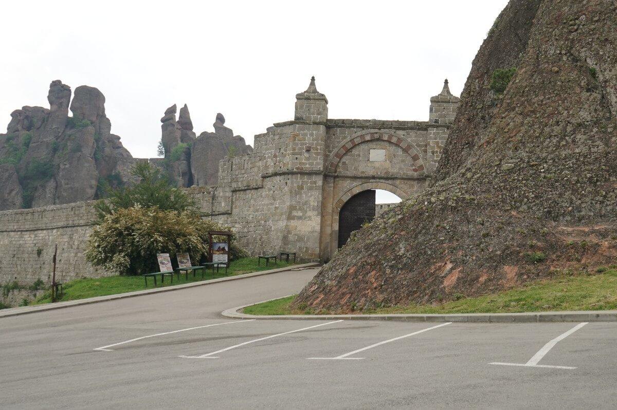 Sehenswürdigkeiten Bulgarien, Eingang Burg Belogradtschik