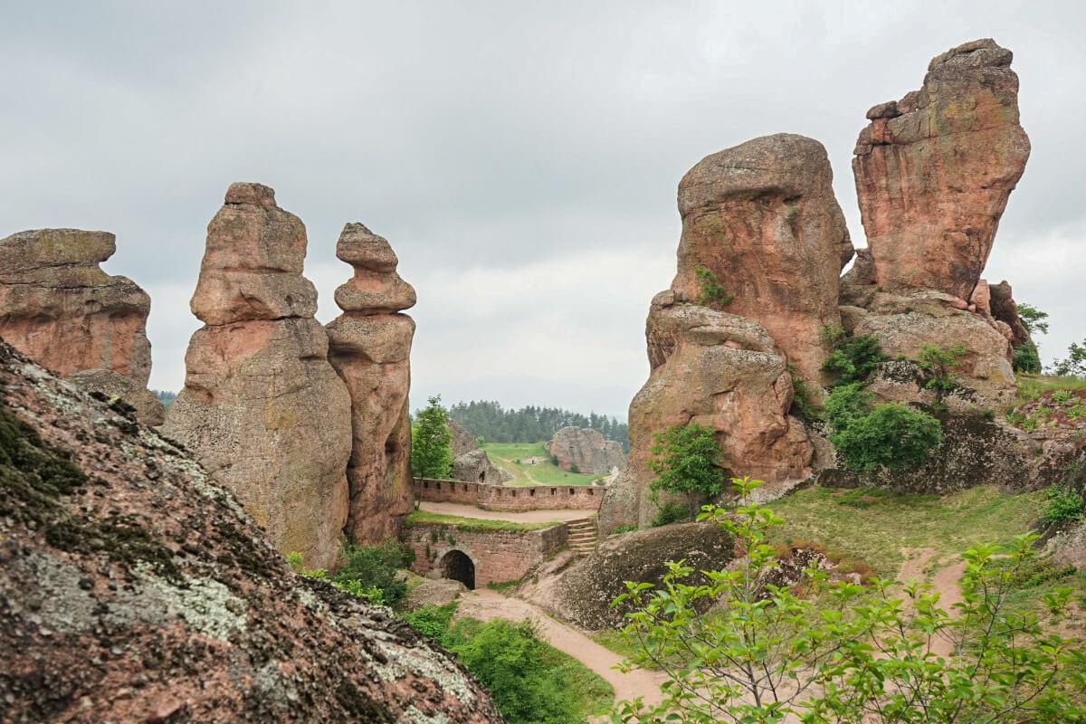 Felsen Belogradtschik bei der Burg, Sehenswürdigkeiten Bulgarien