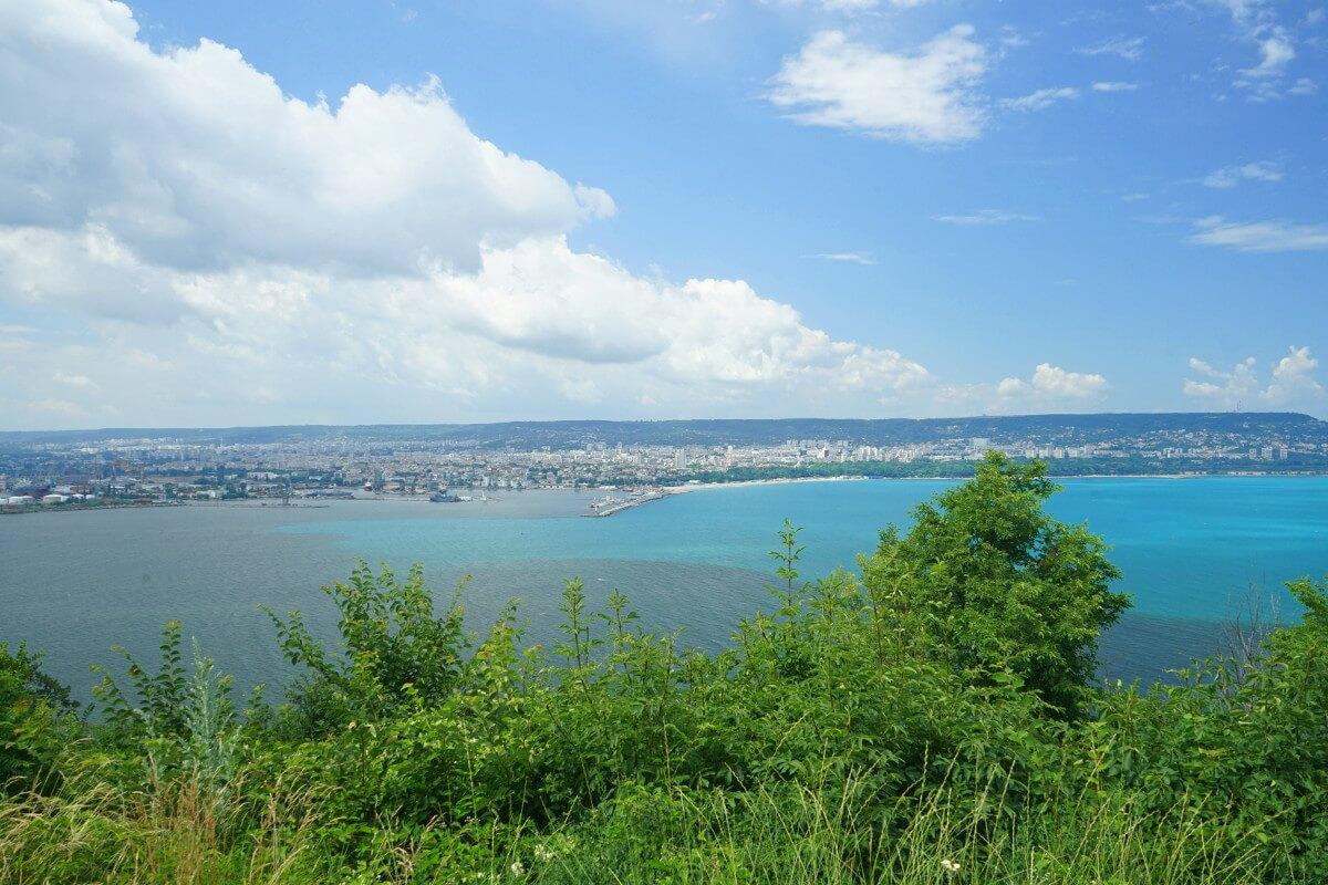 Aussicht auf Varna