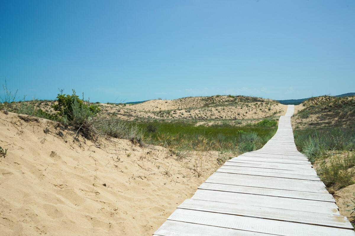 Sanddünen Bulgarien, Sandstrand Schwarzes Meer, Wandern Bulgarien, Sehenswürdigkeiten