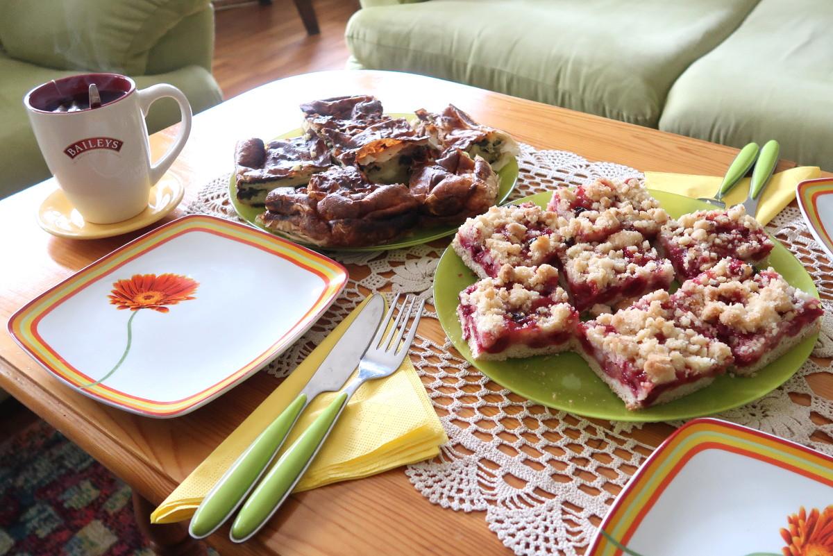 Essen bei Einheimischen in Bulgarien