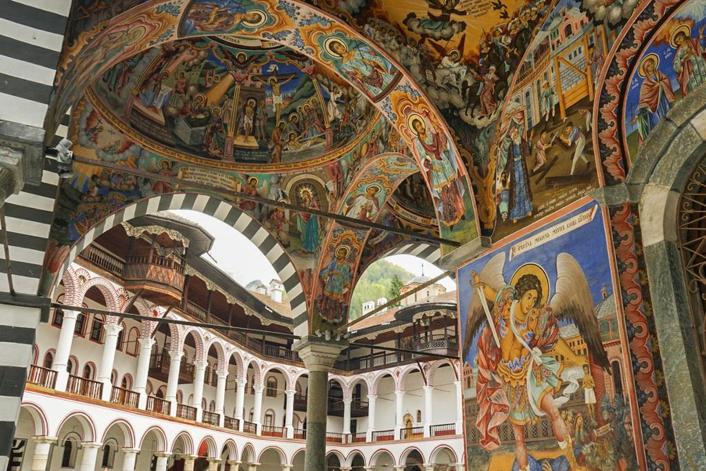 Fresken im Rila Kloster (Bulgarien) - comewithus2