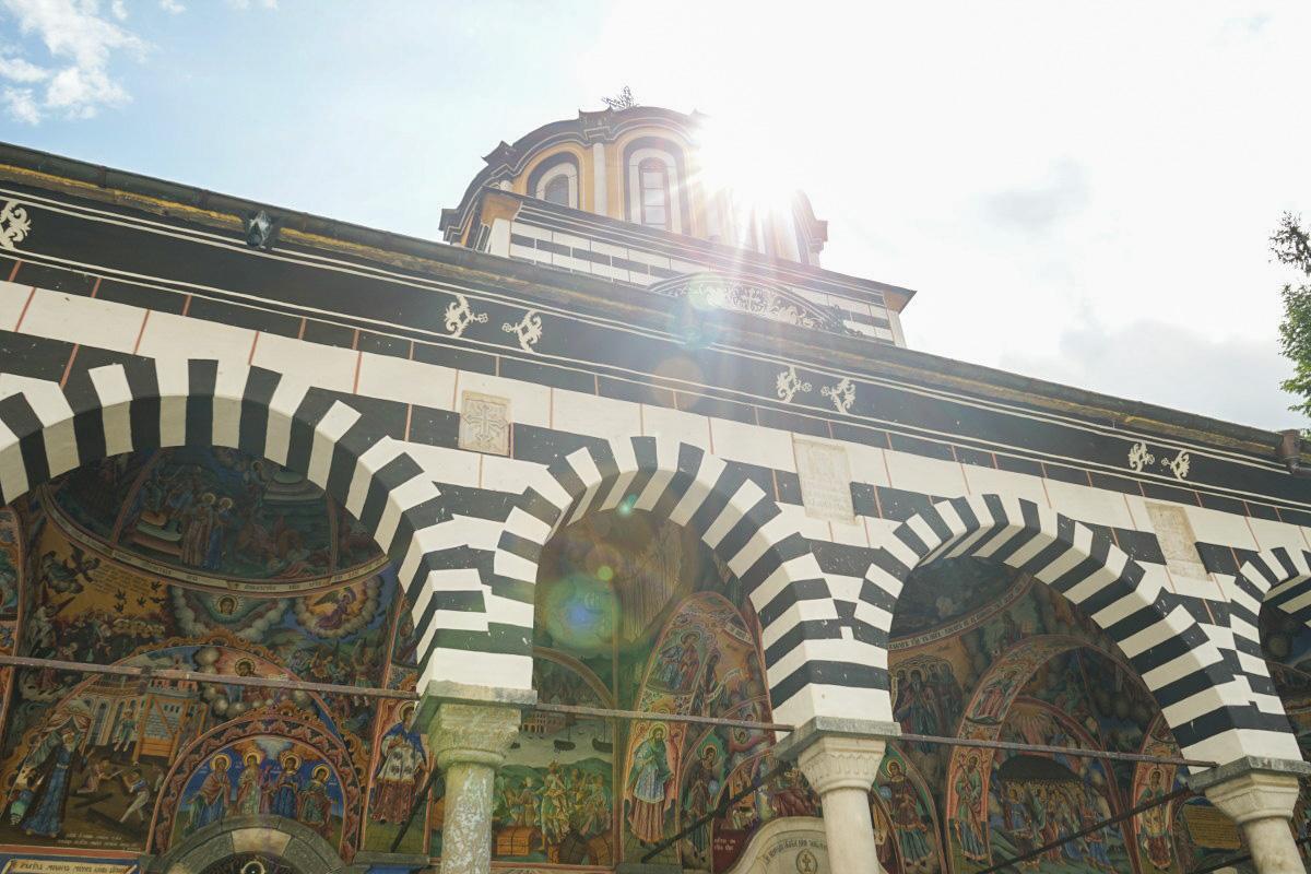 Rila Kloster im Rila Nationalpark in Bulgarien