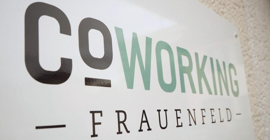 Schild Coworking Frauenfeld