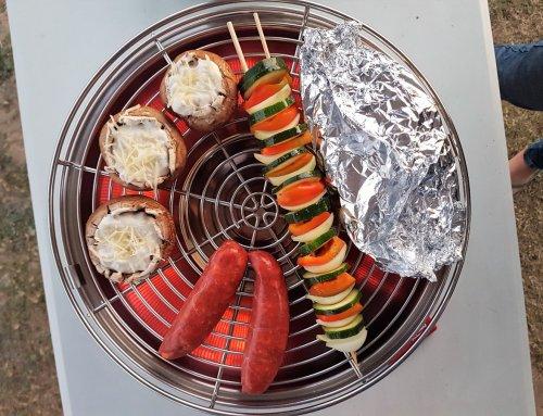 Gemüsespiess-Rezept vom Grill