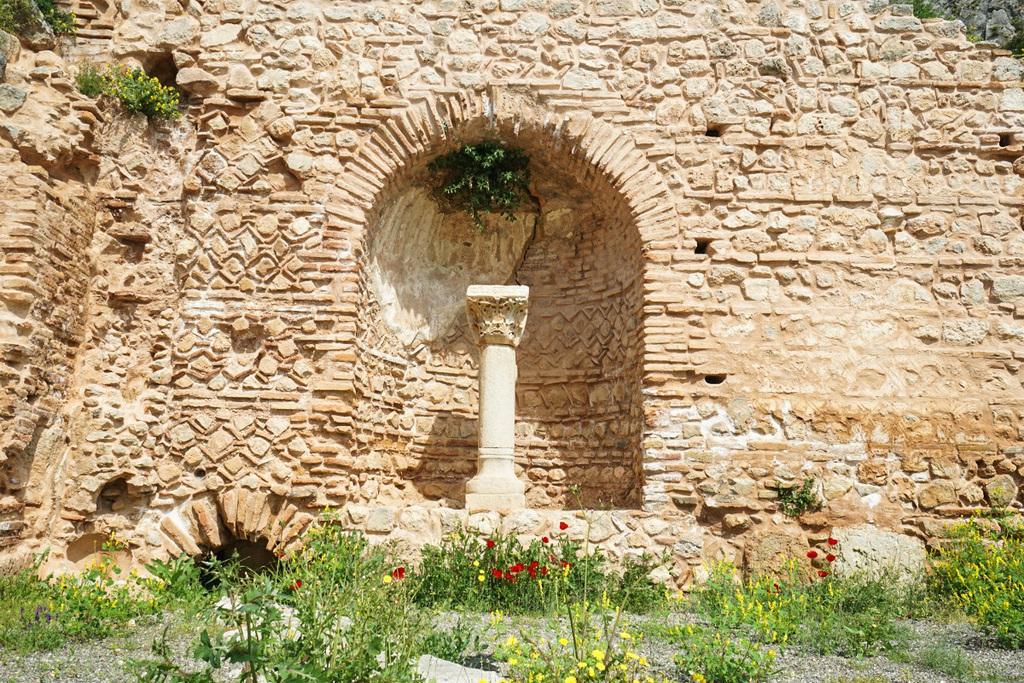 Steinmuster in den Wänden - Delphi