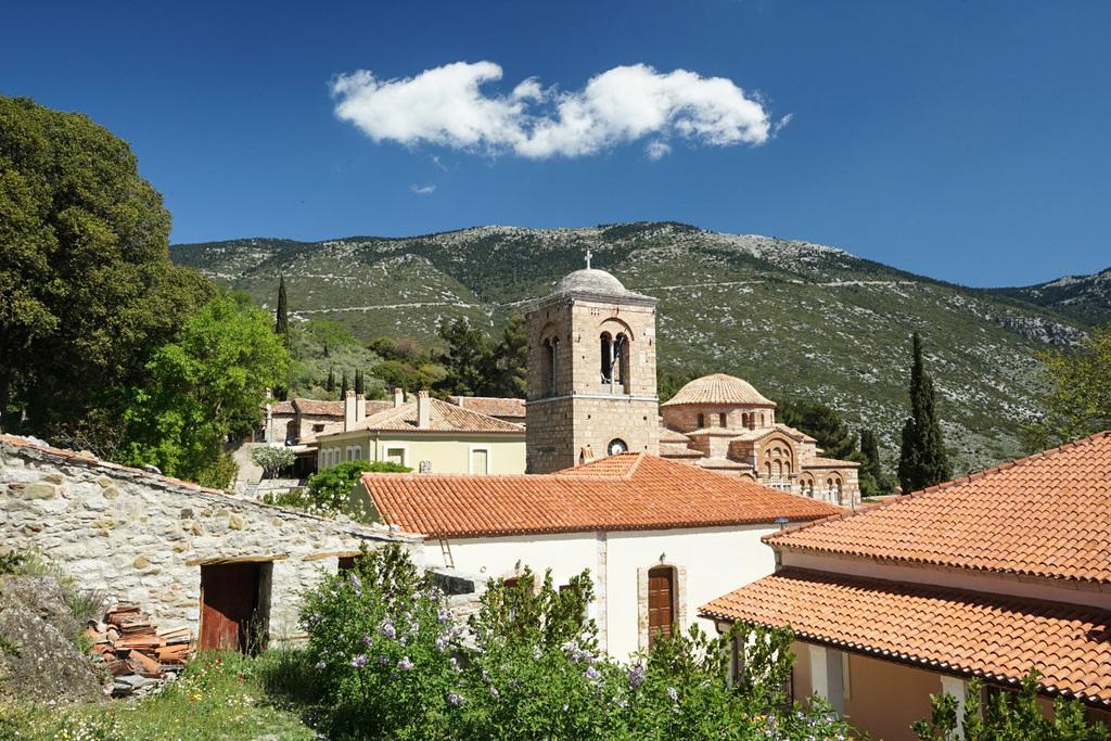 Kirchturm, Gebäude, Hosios Loukas, Kloster Griechenalnd