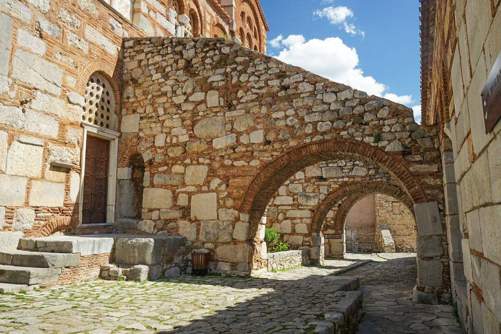 steinerne Torbögen, Hosios Loukas