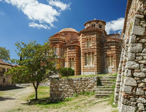 Hosios Loukas – besonderes Kloster bei Delphi