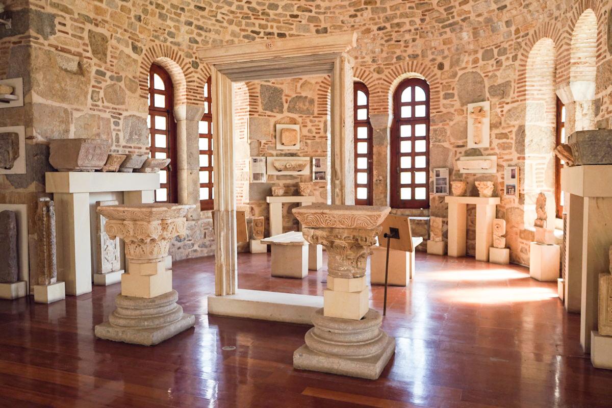 Im Museum von Hosios Loukas