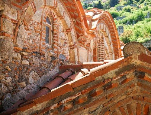 Mystras die Ruinenstadt bei Sparta