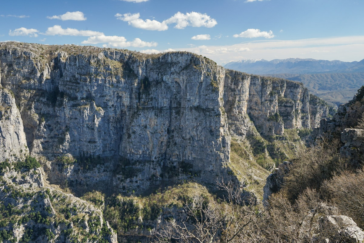 tiefer Canyon, Vikos Schlucht, Vikos Canyon, Geheimtipps Griechenland