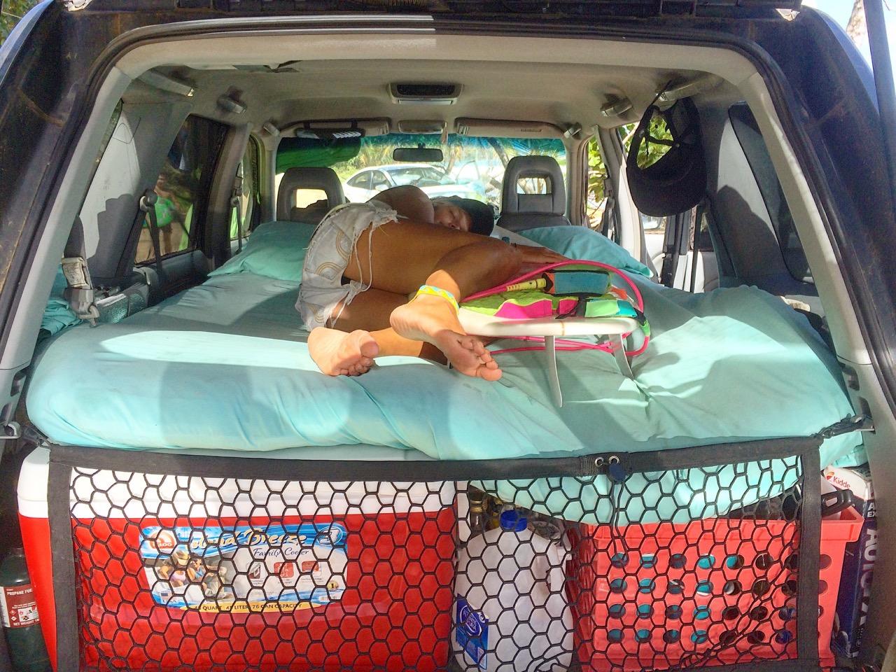 Schlafen im Van