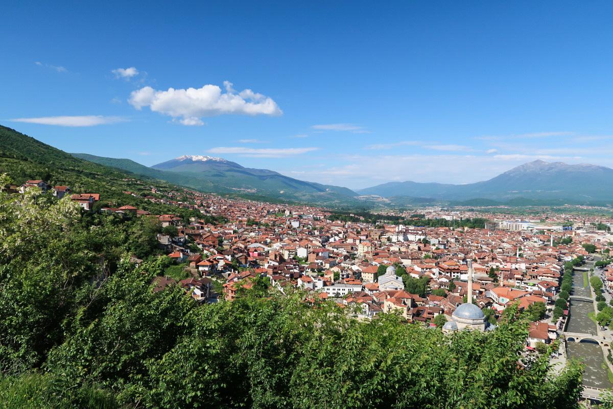 Kalaja Prizren und ihre Aussicht - Kosovo als Reiseland