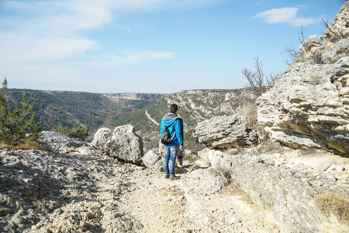 Lui zwischen Felsen - Krka Nationalpark