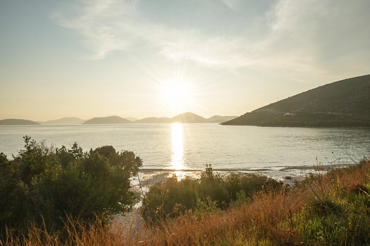 Sonnenuntergang, Meer, Inseln - Sehenswürdigkeiten Kroatien