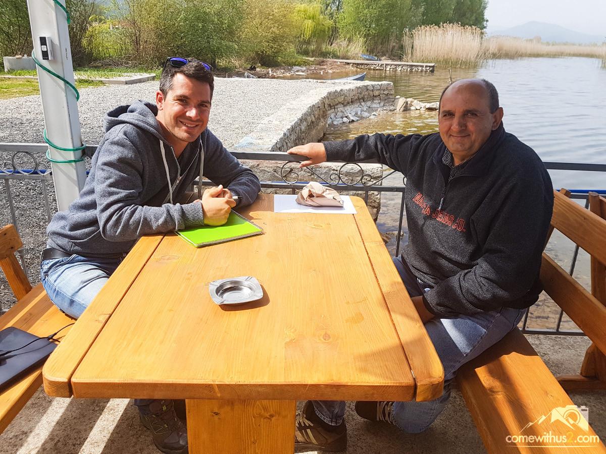 Mazedonien Einheimische erzählen