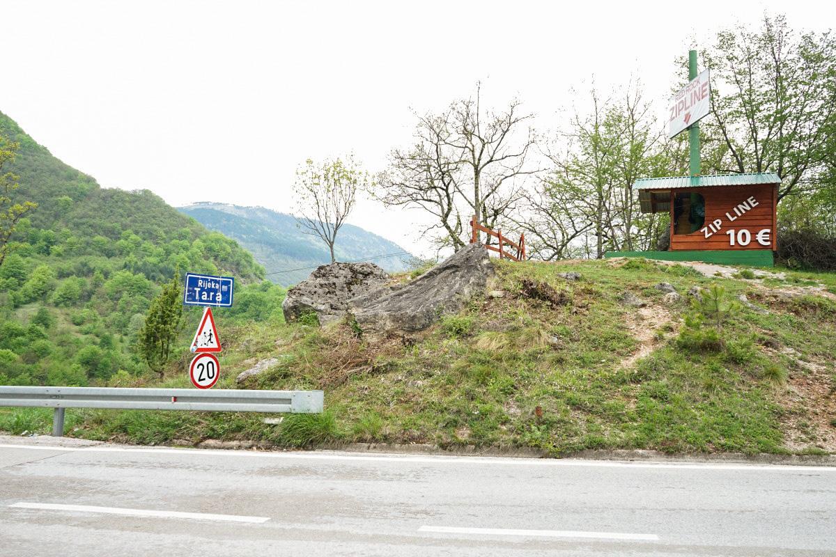Montenegros wilde Natur - Zipline über die Tara Schlucht