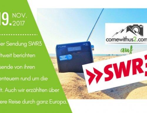 comewithus2 bei SWR3 Weltweit