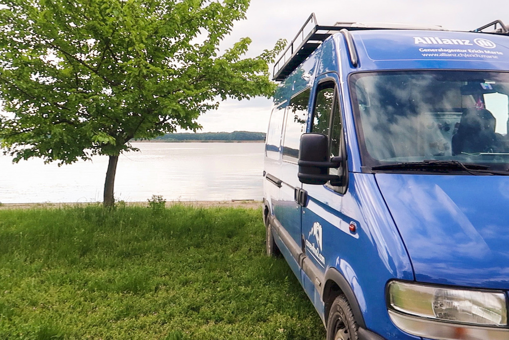 Camping an der Donau, Serbien
