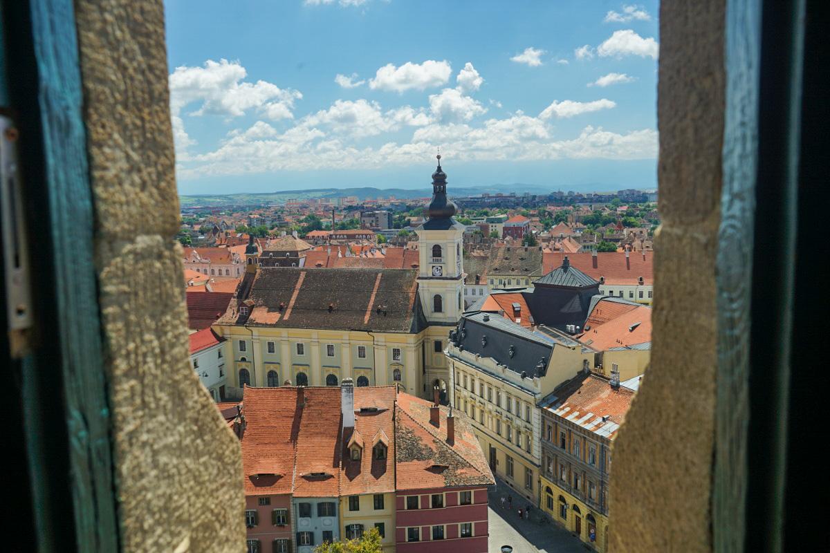 Sibiu von oben