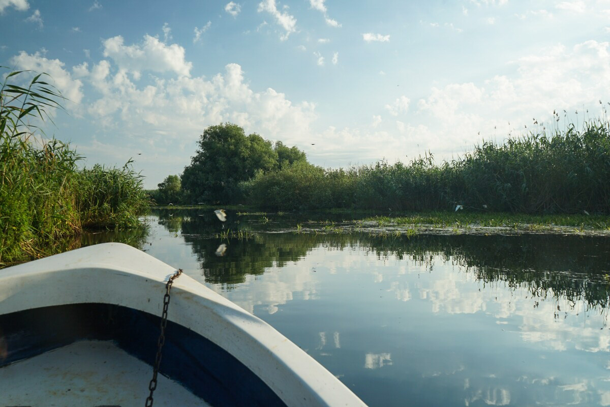 Bootstour im Donaudelta - warum kleine Boote besser sind