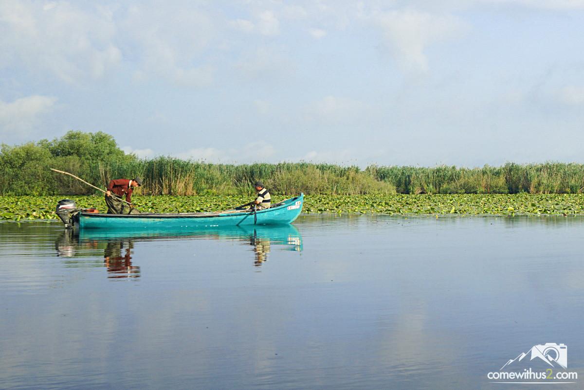 Fischen im Donaudelta