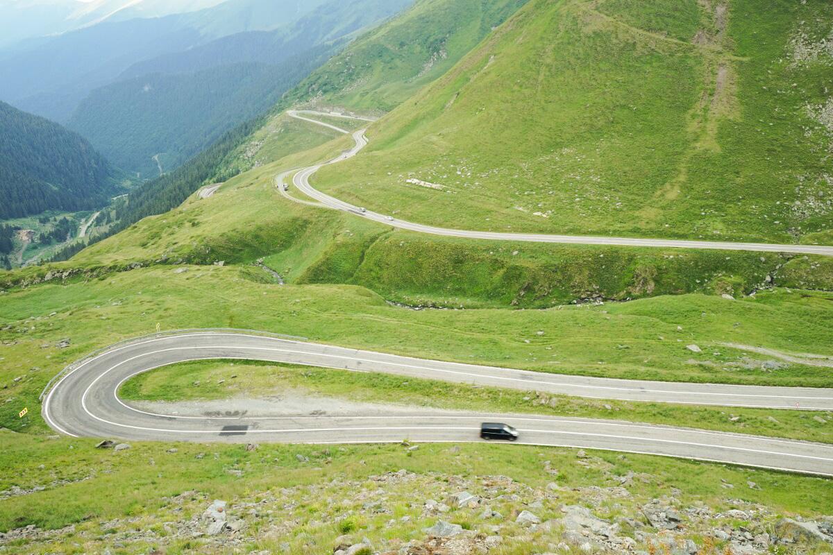 Passstrasse Transfagarasan - Sehenswürdigkeit Rumäniens