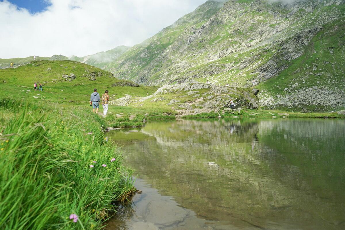 Transfăgărășan Passhöhe Wandern in Rumänien