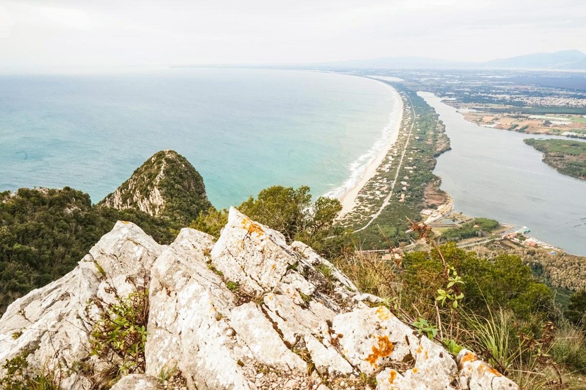 Aussicht - Monte Circeo