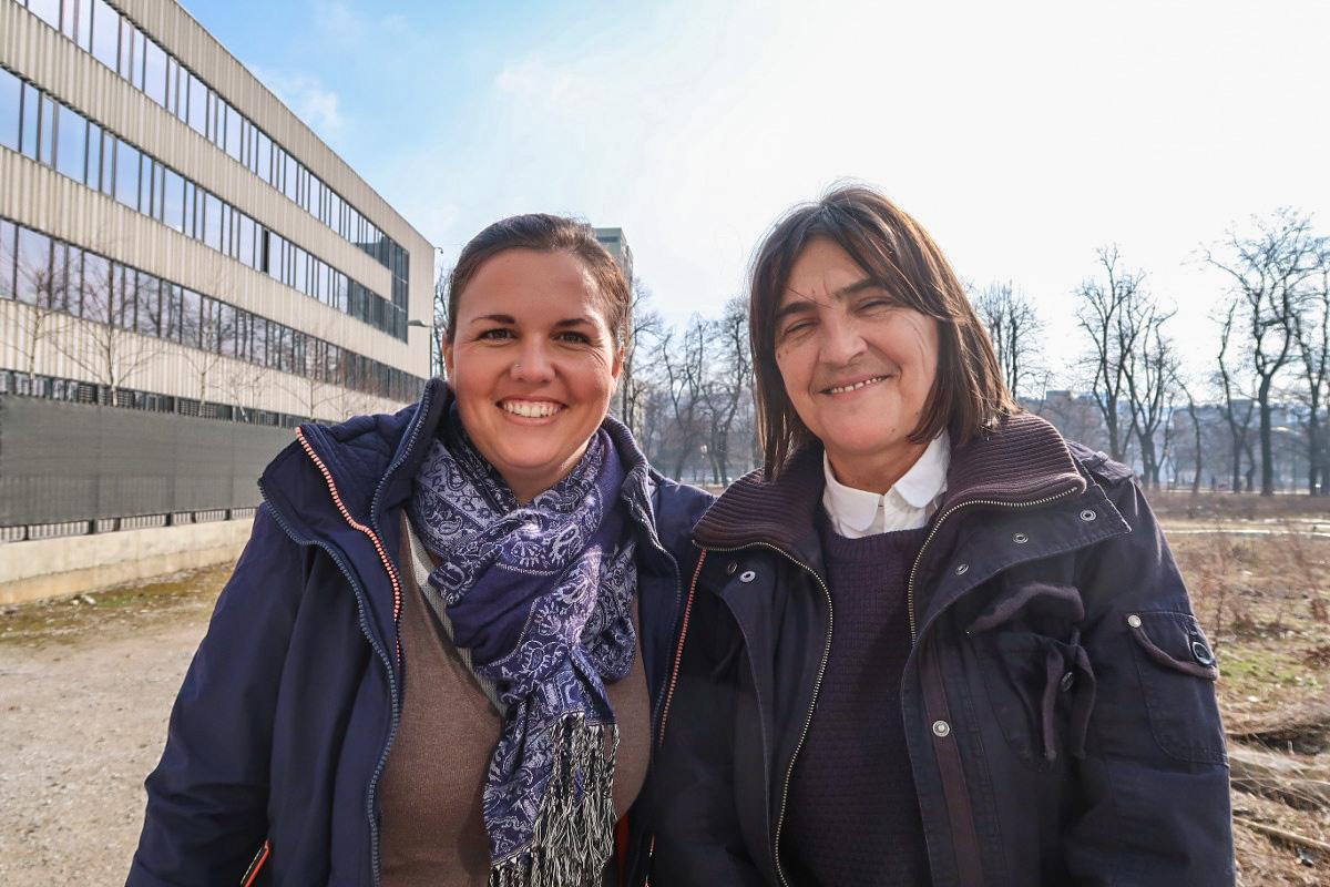 Steffi und Elzemina - Tierhilfe in Bosnien