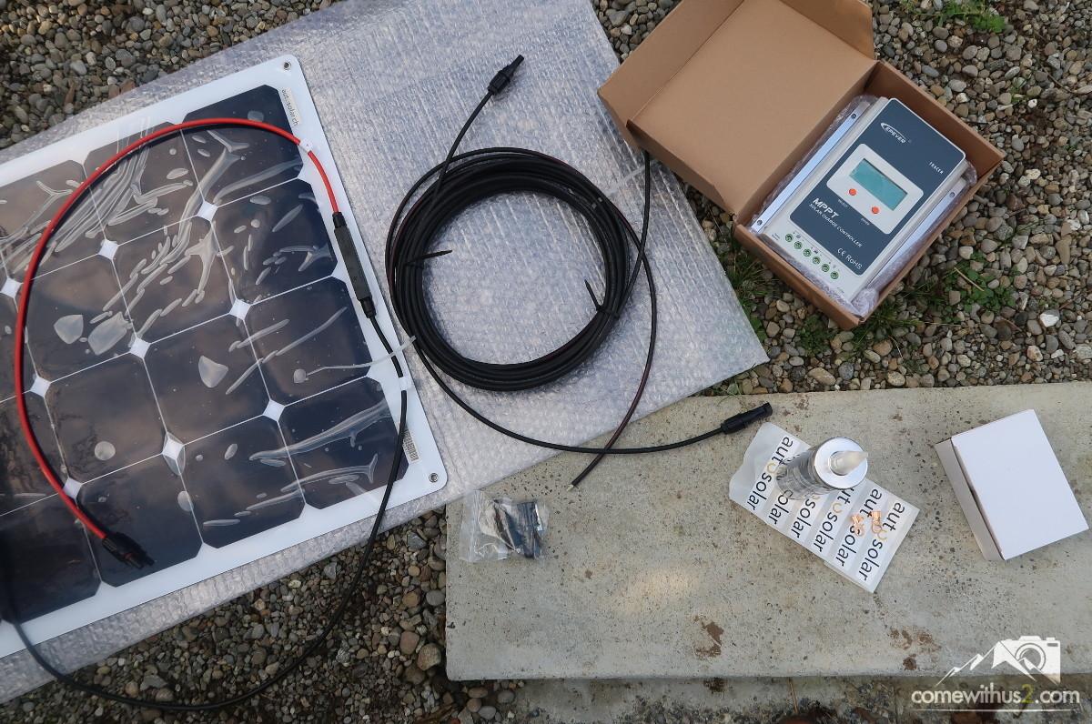 Autosolar - Solaranlage Selbstmontage auf Camper