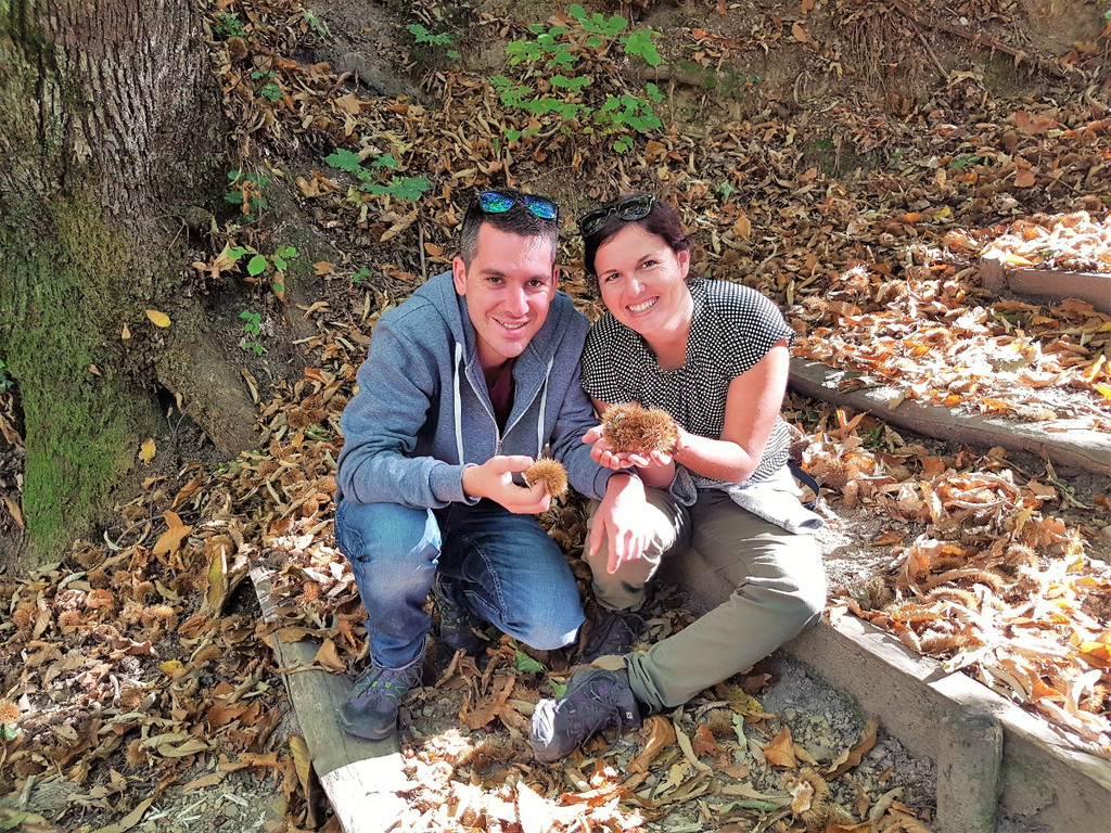 Lui und Steffi von Comewithus2 auf Wanderung im Tessin