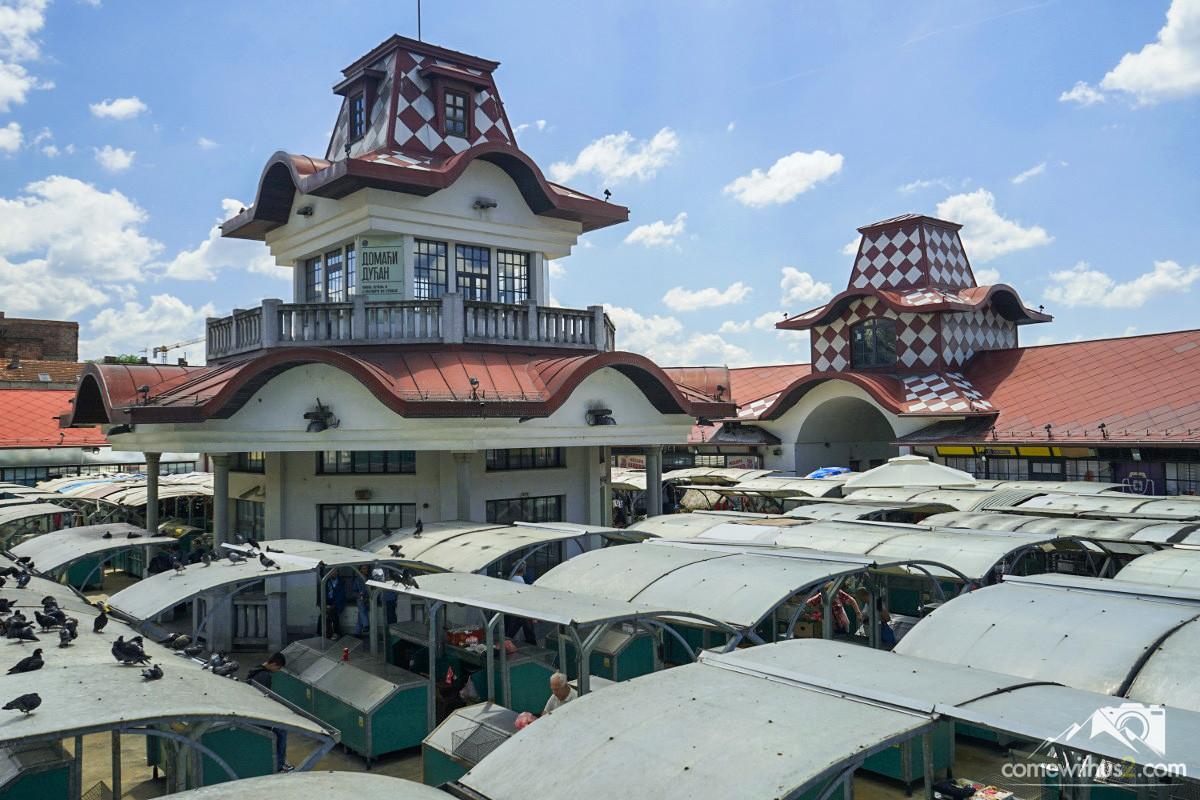 Markt in Belgrad, Bauernmarkt, Belgrad besichtigen