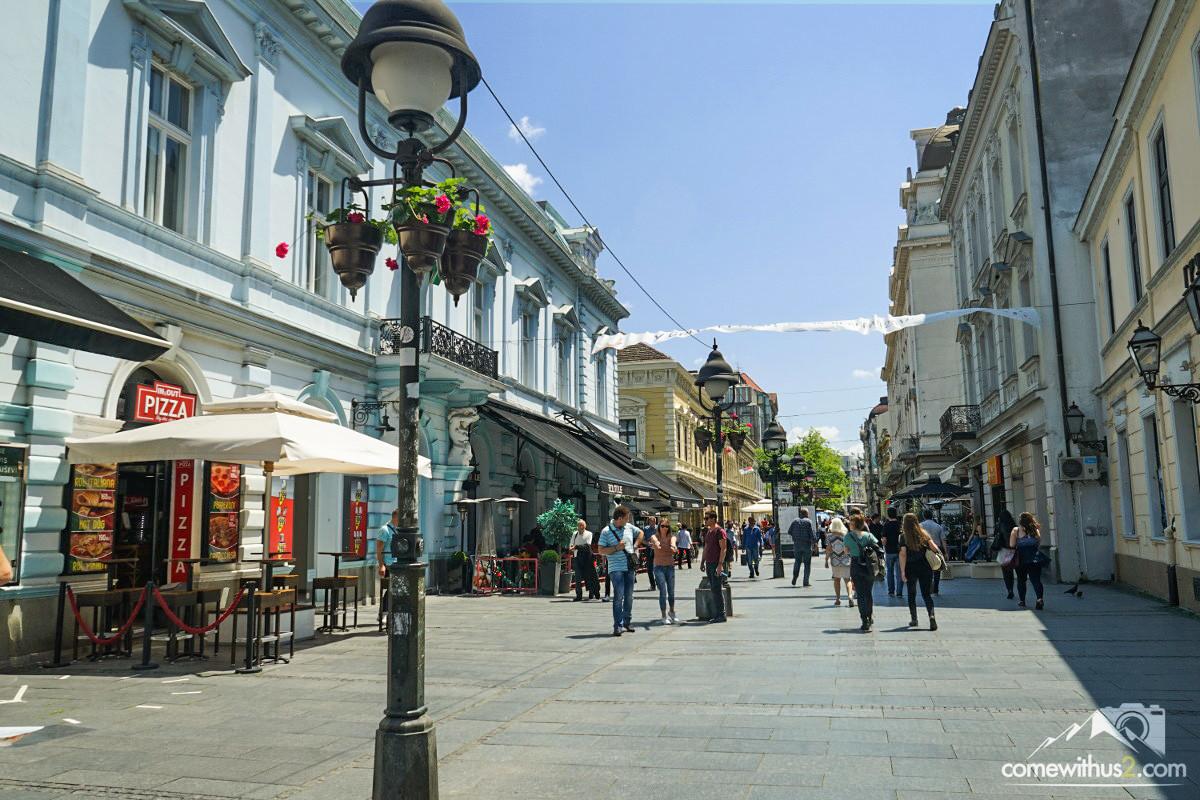 Einkaufsstrasse Belgrads, Belgrad besichtigen