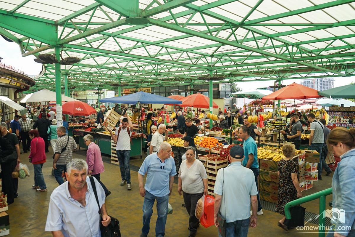 Bauernmarkt in Belgrad
