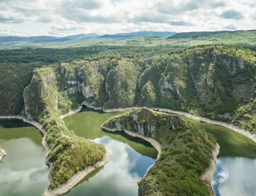 Uvac Canyon eine wahre Naturschönheit