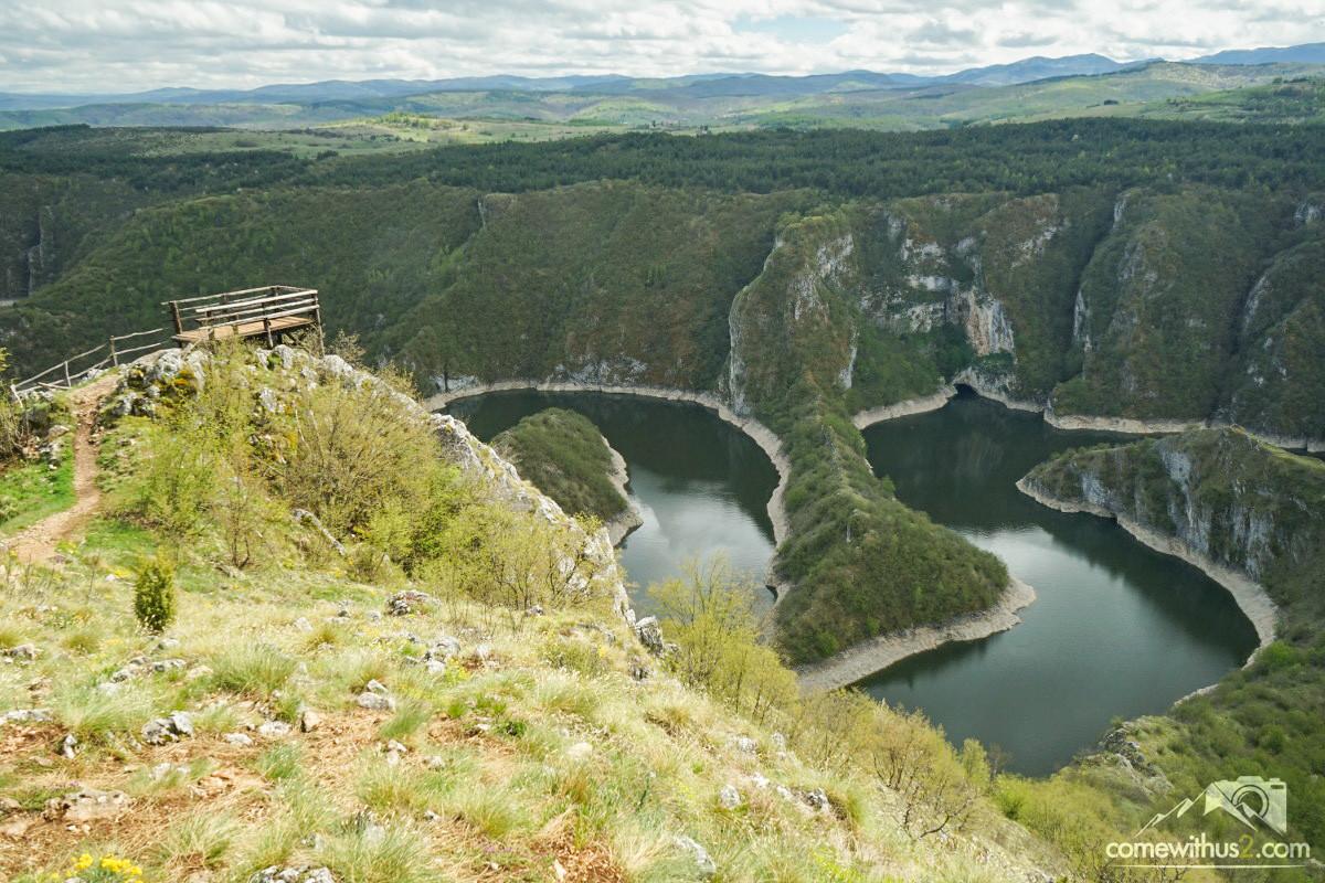 Aussichtspunkt Uvac Canyon Vidikovac