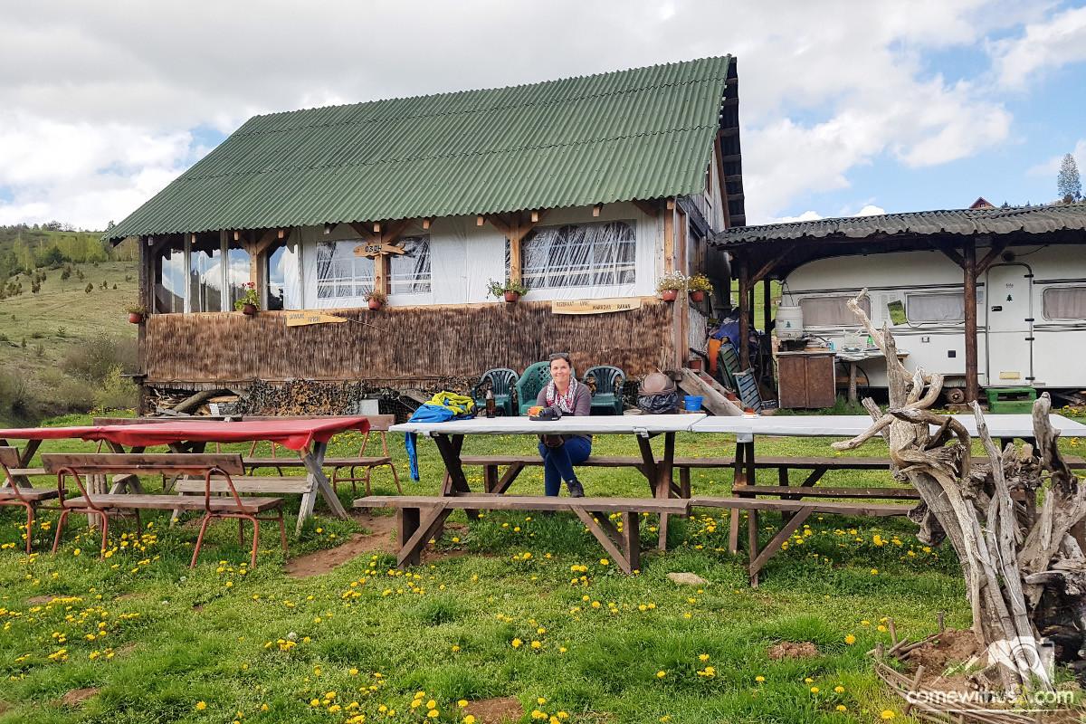 Unterkunft Verpflegung Essen Bar Restaurant Uvac Canyon