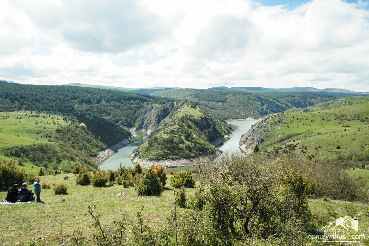 Sehenswürdigkeiten Serbien Uvac Canyon besichtigen