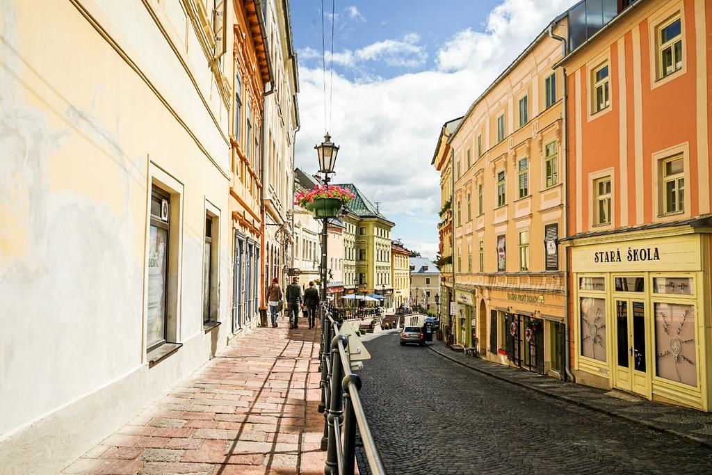 Architektur in der Slowakei: Hier in Banska Stivanica