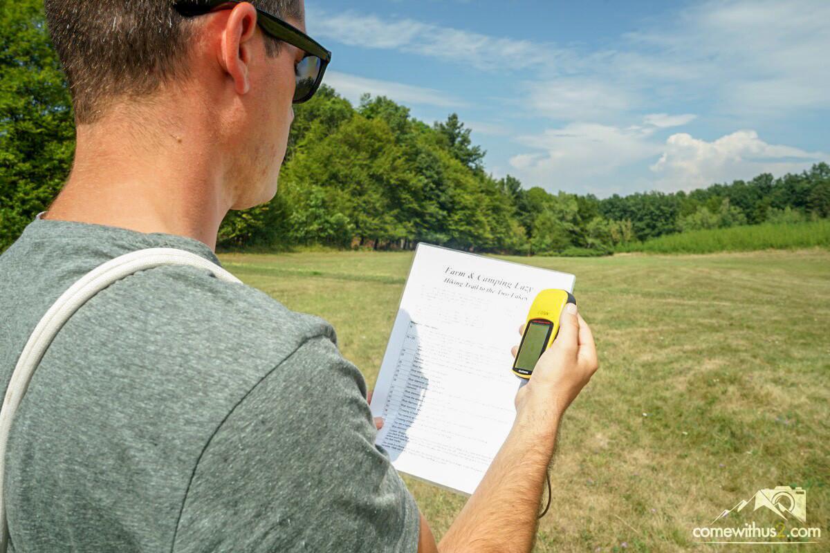 Wandern mit GPS in der Slowakei