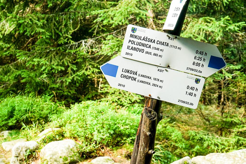 Wanderung Gipfel Chopok Slowakei